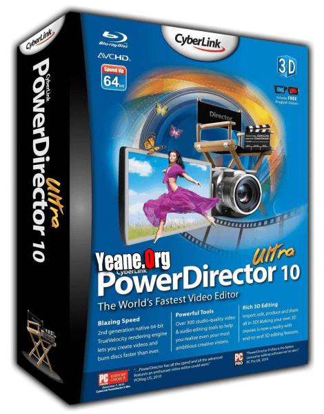 CyberLink PowerDirector Ultra 10.0.0.2023 Final with keyen