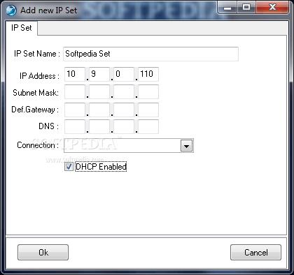 بۆ گۆڕینی ئایپی Ip Changer v2.2  بەرنامەی