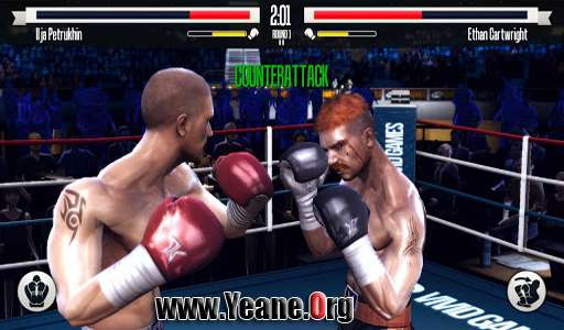 Real Boxing paid FUll APK :: 150Mb