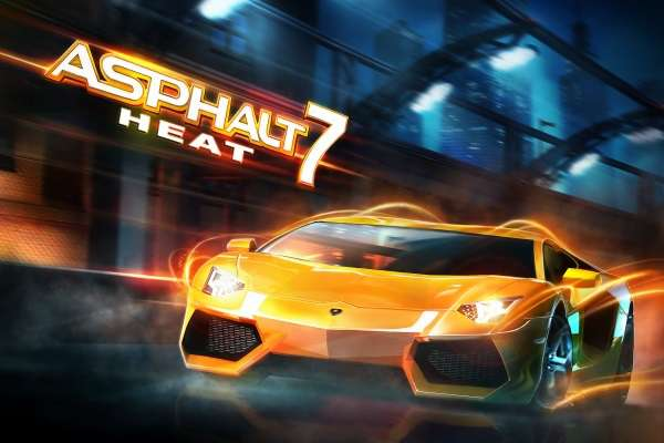 Asphalt 7 Heat Full HD For iphone (Mobile GMAE)