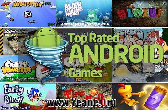 50 Top Rated Android Games یاری خۆش و بههێز بۆ ئهندرۆید