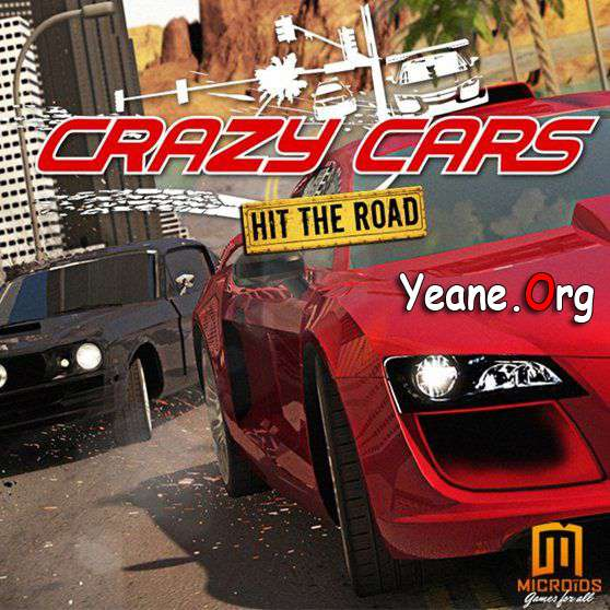 Crazy Cars – Hit The Road – For iPad, iPhone, iPod iOS 5.0 and higher HD